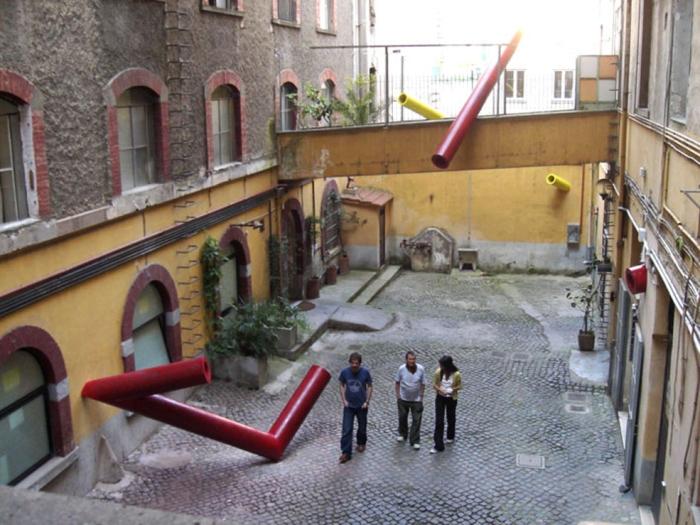 Innesti, 2006 (Fondazione Pastificio Cerere, Roma)