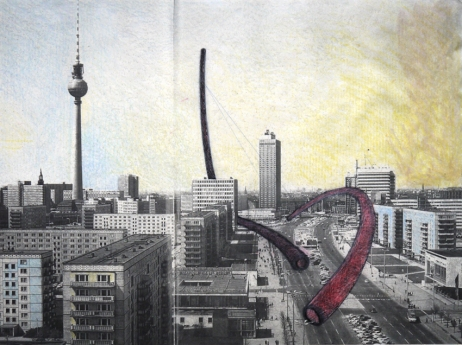 Disegno urbano, 1999 (Berlino)