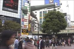 "Frame dal video ""Anywhere"", 2005"