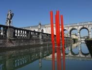 Flussi, 2013, Prima Biennale di scultura, Piazzola sul Brenta, 2013