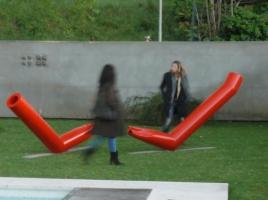 Flussi, 2012, allestimento al Riva loft, Firenze, 2012