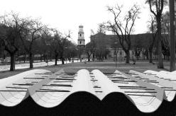 """Progetto per """"Partitura Nassiriya"""", concorso per monumento ai caduti di Nassiriya, 2006 (Roma, Parco Schuster)"""