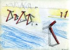"Studio per ""Innesti sul Tevere"", 2007"