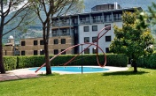 Largo gesto, 2003, Albornoz Palace hotel Spoleto