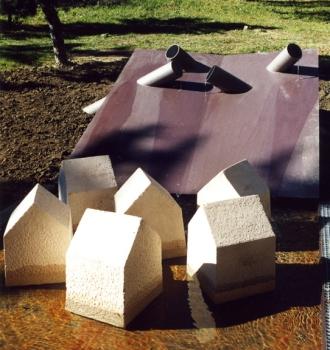 La forma dell'acqua, 2006. Pescocostanzo ( con Graziano Pompili)