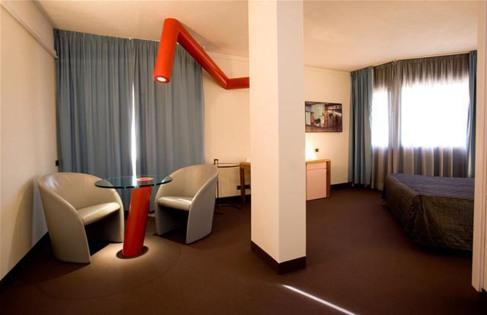 Innesti da camera, 2008, Albornoz Palace hotel Spoleto