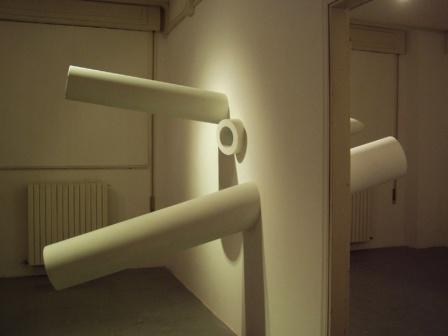 Passante e gomito, 2005, galleria Trebisonda, Perugia
