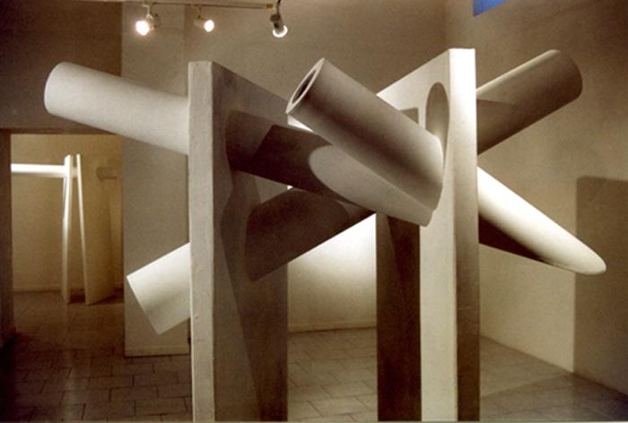 Veduta della mostra Sequenze, galleria Limiti Inchiusi, Campobasso, 2005