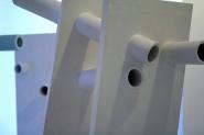 Veduta della mostra This is not a pipe, Casa dell'architettura, Acquario romano, Roma, 2010