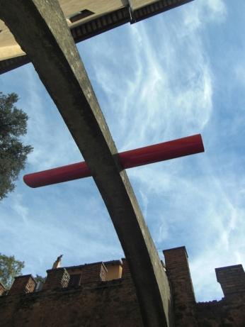 Innesto ad arco, palazzo Ruspoli, Nemi, 2009
