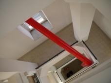 Accento in rosso, Torre civica di Pomezia, 2012