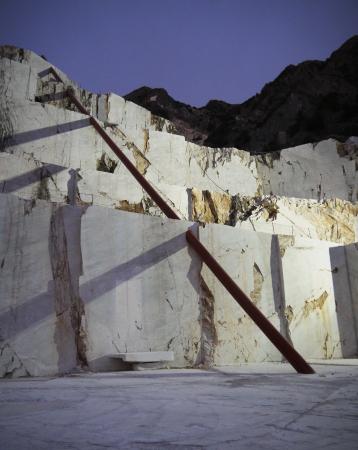 Illusione, Cave Michelangelo, Carrara, 2015