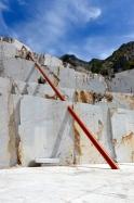 Illusione, Cave Michelangelo, Carrara. ( foto Victor Gingembre, 2015)