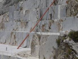 Illusione, Cave Michelangelo, Carrara