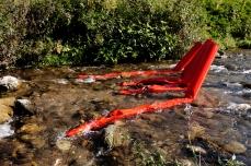 Flussi-Panta rei. Scultura ambientale sul fiume Crati, 2017