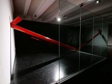 Traccia (2019) Opera realizzata nell'Atelier#2 del Macro Asilo, Roma, 2019