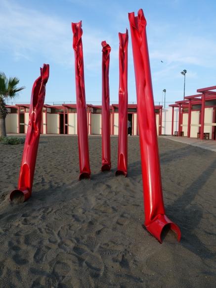 Frontemare,, 2019, Abbi cura, SBA Sporting beach arte, Ostia , 2019