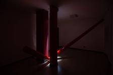 Traccia (2019) per la mostra Le nove stanze, Roma, 2019